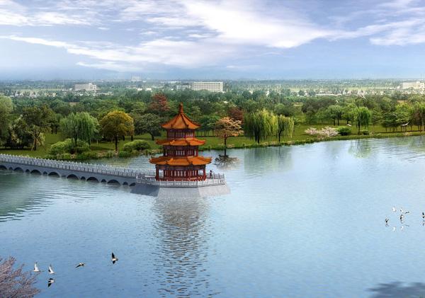 天颐湖项目